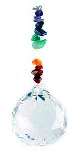 Chakra Hanging Crystal