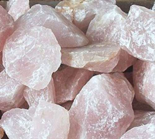 Rose Quartz Natural Rock