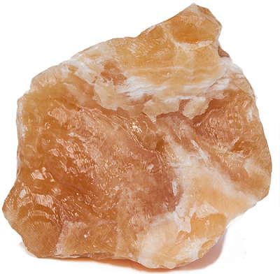 ORANGE CALCITE PIECE